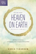 The One Year Heaven on Earth Devotional eBook
