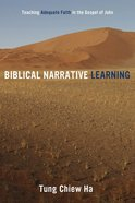 Biblical Narrative Learning eBook