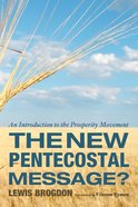 The New Pentecostal Message? eBook
