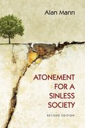 Atonement For a Sinless Society eBook