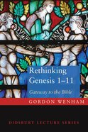 Rethinking Genesis 1-11 eBook