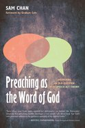Preaching as the Word of God eBook
