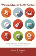 Worship Music in the 21St Century eBook