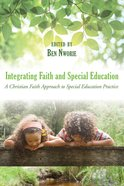 Integrating Faith and Special Education eBook