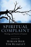 Spiritual Complaint eBook