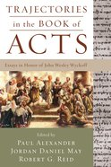 Trajectories in the Book of Acts eBook