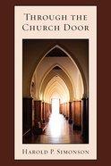 Through the Church Door eBook