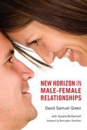 New Horizon in Male-Female Relationships eBook