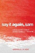 Say It Again, Sam eBook