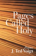 Pages Called Holy eBook