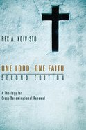 One Lord, One Faith, Second Edition eBook