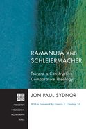 Ramanuja and Schleiermacher (Princeton Theological Monograph Series) eBook