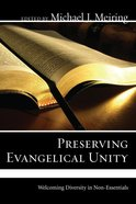 Preserving Evangelical Unity eBook