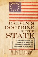 Calvin's Doctrine of the State eBook