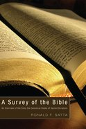A Survey of the Bible eBook