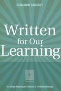 Written For Our Learning eBook