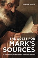 The Quest For Mark's Sources eBook