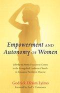 Empowerment and Autonomy of Women eBook