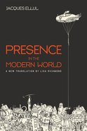 Presence in the Modern World eBook