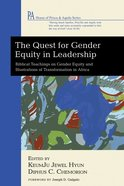 The Quest For Gender Equity in Leadership eBook
