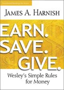 Earn. Save. Give. Devotional Readings For Home eBook