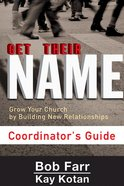 Get Their Name: Coordinator's Guide eBook