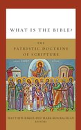 What is the Bible? eBook
