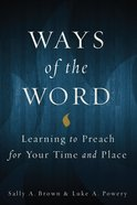 Ways of the Word eBook