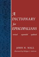 Dictionary For Episcopalians eBook
