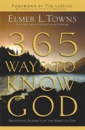 365 Ways to Know God eBook