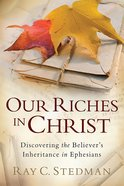 Our Riches in Christ eBook