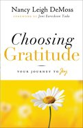 Choosing Gratitude eBook