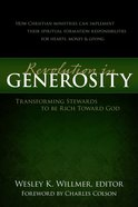 A Revolution in Generosity eBook