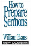 How to Prepare Sermons eBook