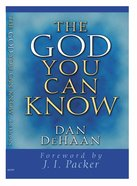 The God You Can Know eBook