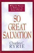 So Great Salvation eBook