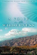 A Voice in the Wilderness eBook