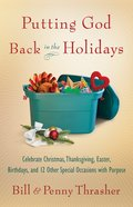 Putting God Back in the Holidays eBook