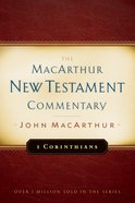 1 Corinthians (Macarthur New Testament Commentary Series) eBook
