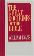 The Great Doctrines of the Bible eBook