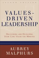 Values-Driven Leadership (2nd Edition) eBook