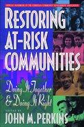 Restoring At-Risk Communities eBook
