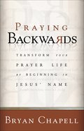 Praying Backwards eBook