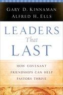 Leaders That Last eBook