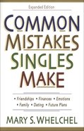 Common Mistakes Singles Make eBook