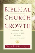 Biblical Church Growth