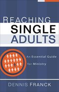 Reaching Single Adults eBook