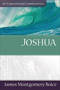 Joshua (Expositional Commentary Series) eBook