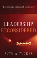 Leadership Reconsidered eBook
