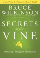 Secrets of the Vine (#02 in Breakthrough Series) eBook